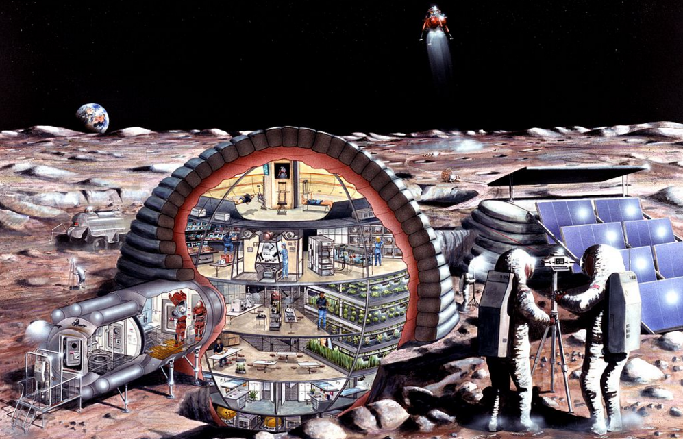 Jeb Bush: A Moon Colony Would Be 'Pretty Cool'