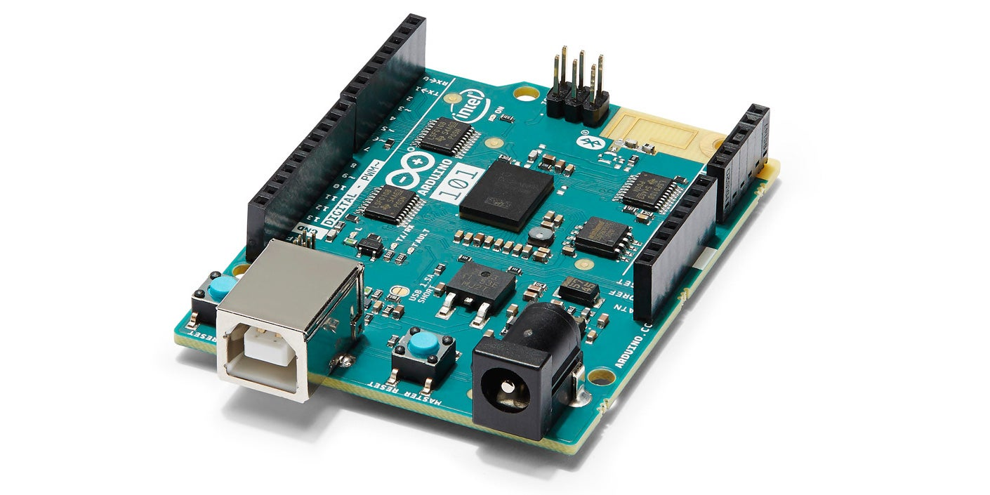 This New Arduino 101 Uses Intel's Tiny, Low-Power Curie Chip