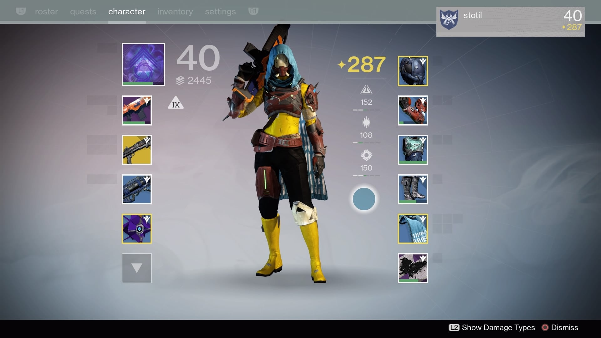 The Evolution Of A Destiny Character