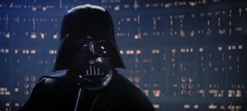 How many people has Darth Vader killed in the Star War movies?