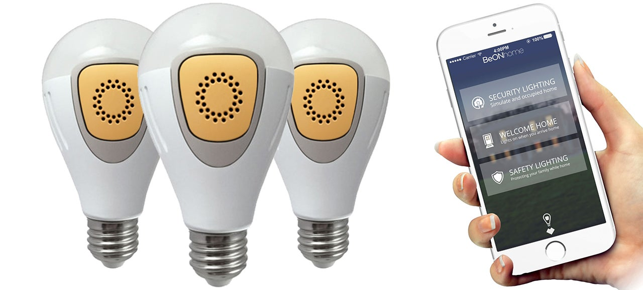 Smart LED Bulbs Learn Your Routines, And Automatically Turn On When You Go On Vacation