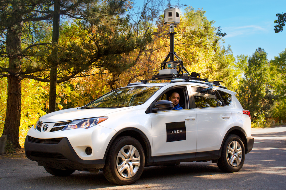 Uber Now Has Its Own Fleet of Mapping Vehicles