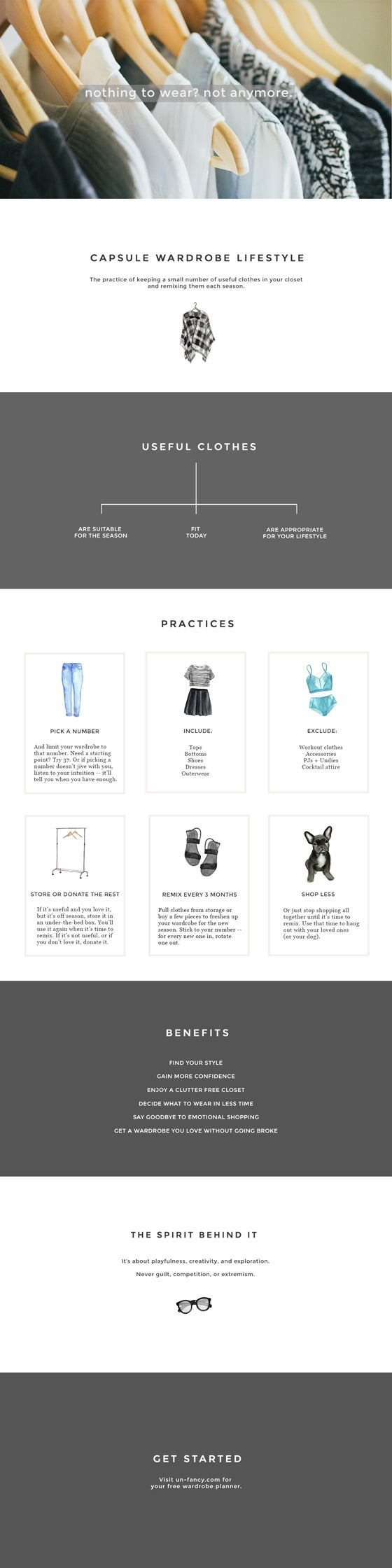 Create a Minimalist Capsule Wardrobe with This Guide
