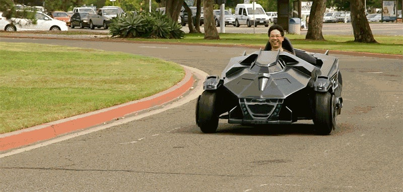 This Arkham Knight Batmobile Go-Kart Is Worthy of All Your Envy