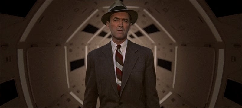 Fantastically edited video combines Hitchcock and Kubrick films into one world (NSFW)
