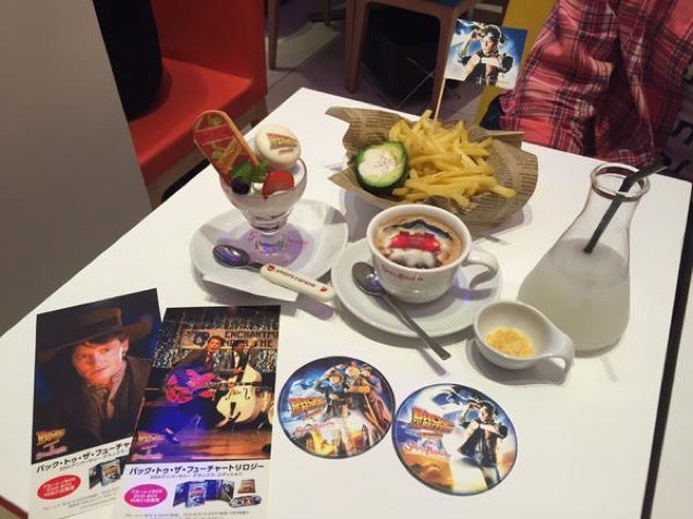 Great Scott! Japan Has Back to the Future Cafes