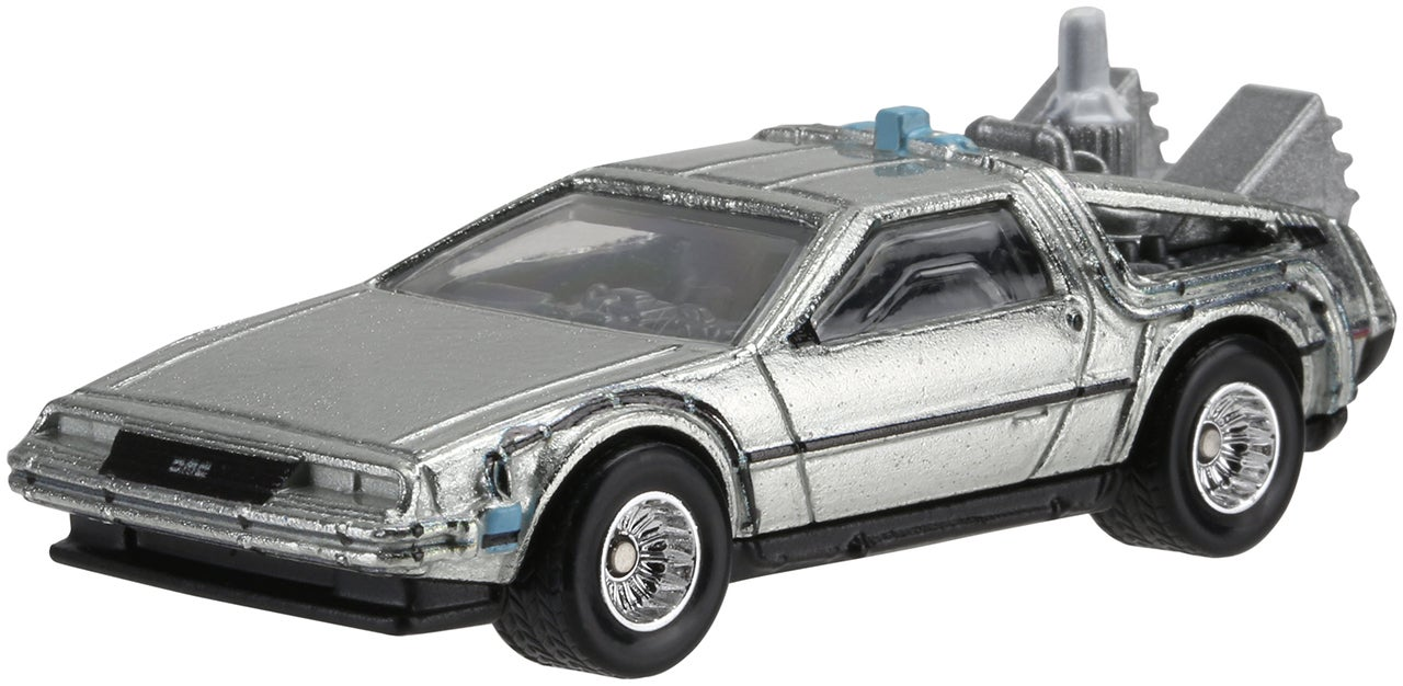 Imagination, Not Roads, Is What Hot Wheels' Hover Mode BTTF II DeLorean Needs to Fly