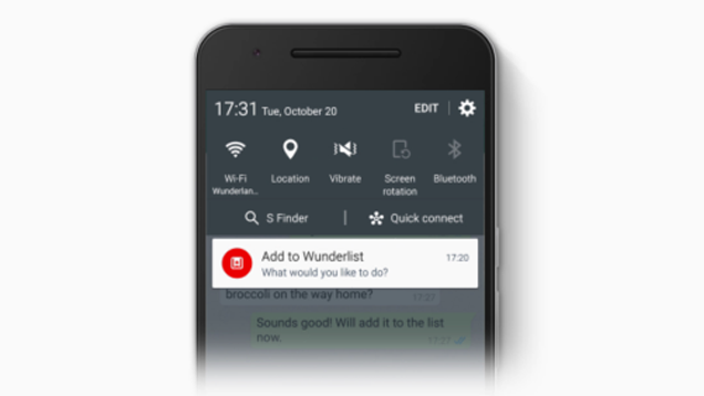 Wunderlist for Android Updates with Quicker Ways to Add To-Dos, Integration with Google Now on Tap