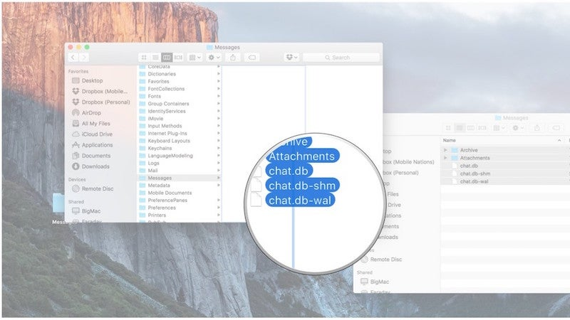 Easily Transfer Old Messages Archives From One Mac To Another