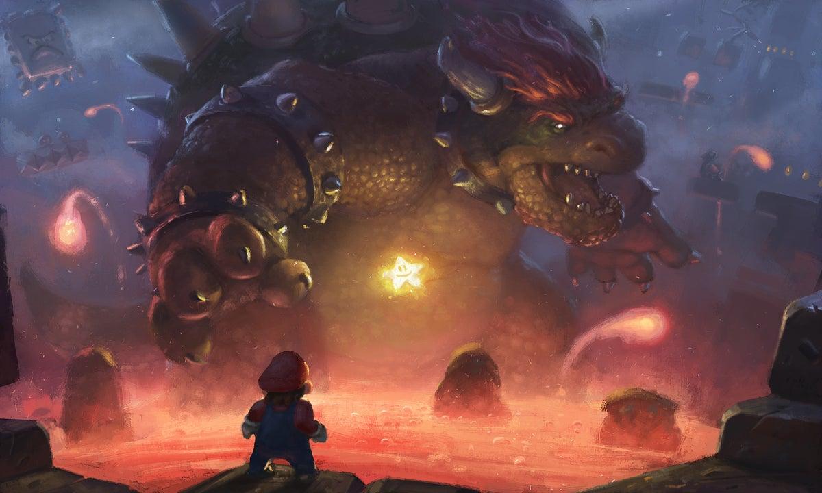 Mario Faces The Final Boss