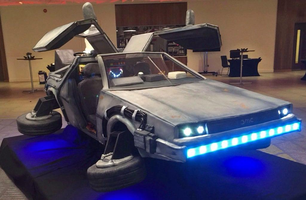 No Way! This Perfect BTTF II DeLorean Replica Is Actually an Edible Cake