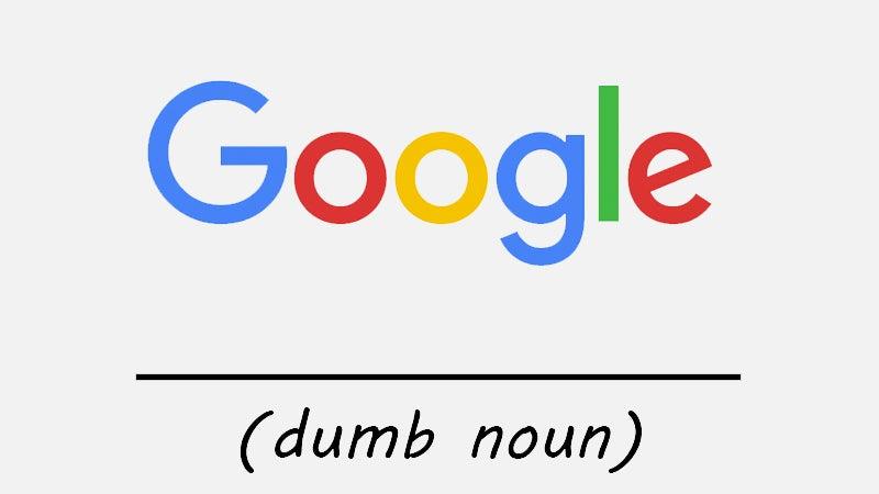 Google Sucks At Naming Stuff