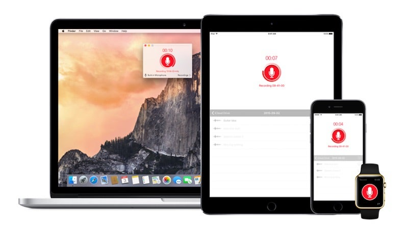 Just Press Record Is a Syncing Voice Recorder for iOS and OS X