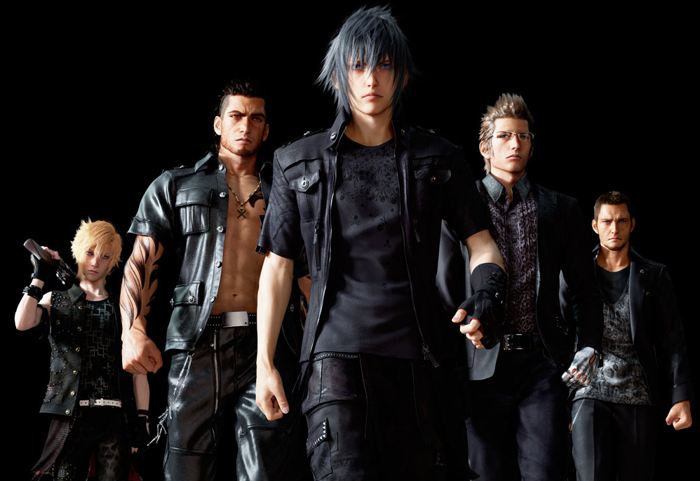 The Reason Why Final Fantasy XV's Main Characters Wear Black