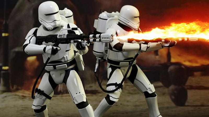 Hot Toys' Force Awakens Flametrooper Is Here To Incinerate What's Left Of Your Money