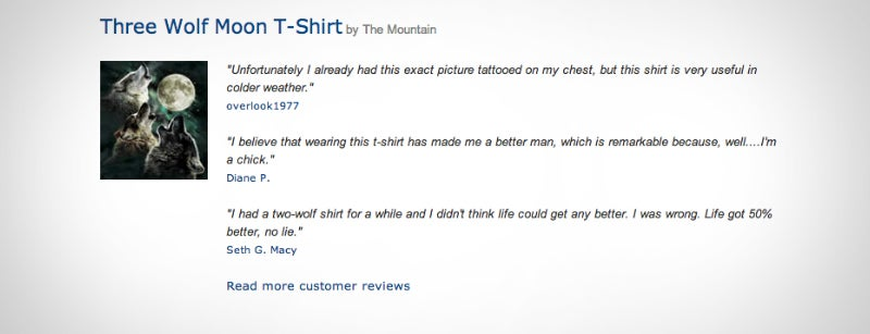 3 wolf t shirt review