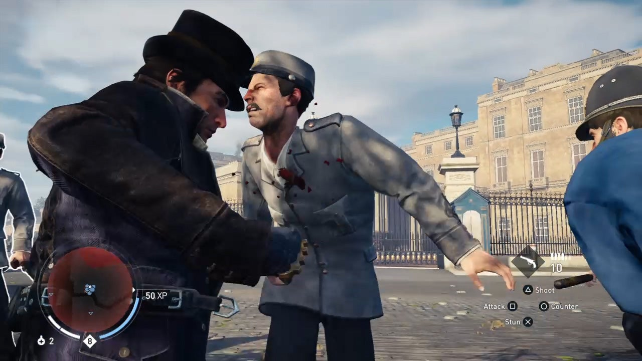 Three Minutes of Fighting Over a Half-Naked Man in Assassin's Creed Syndicate