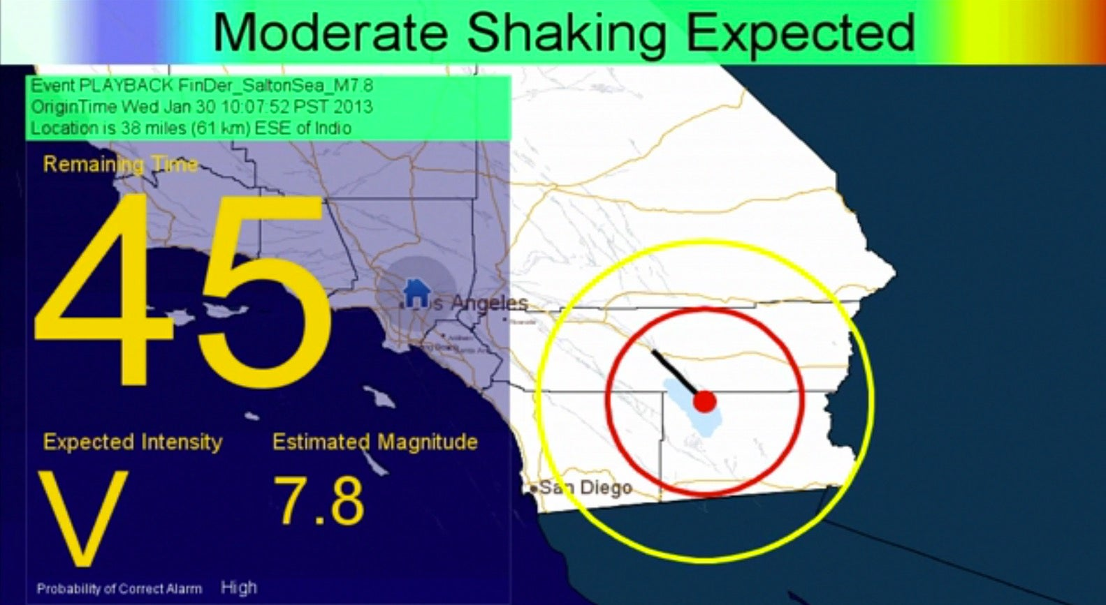 LA High School Students Will Help Test The Region's New Earthquake Early Warning System