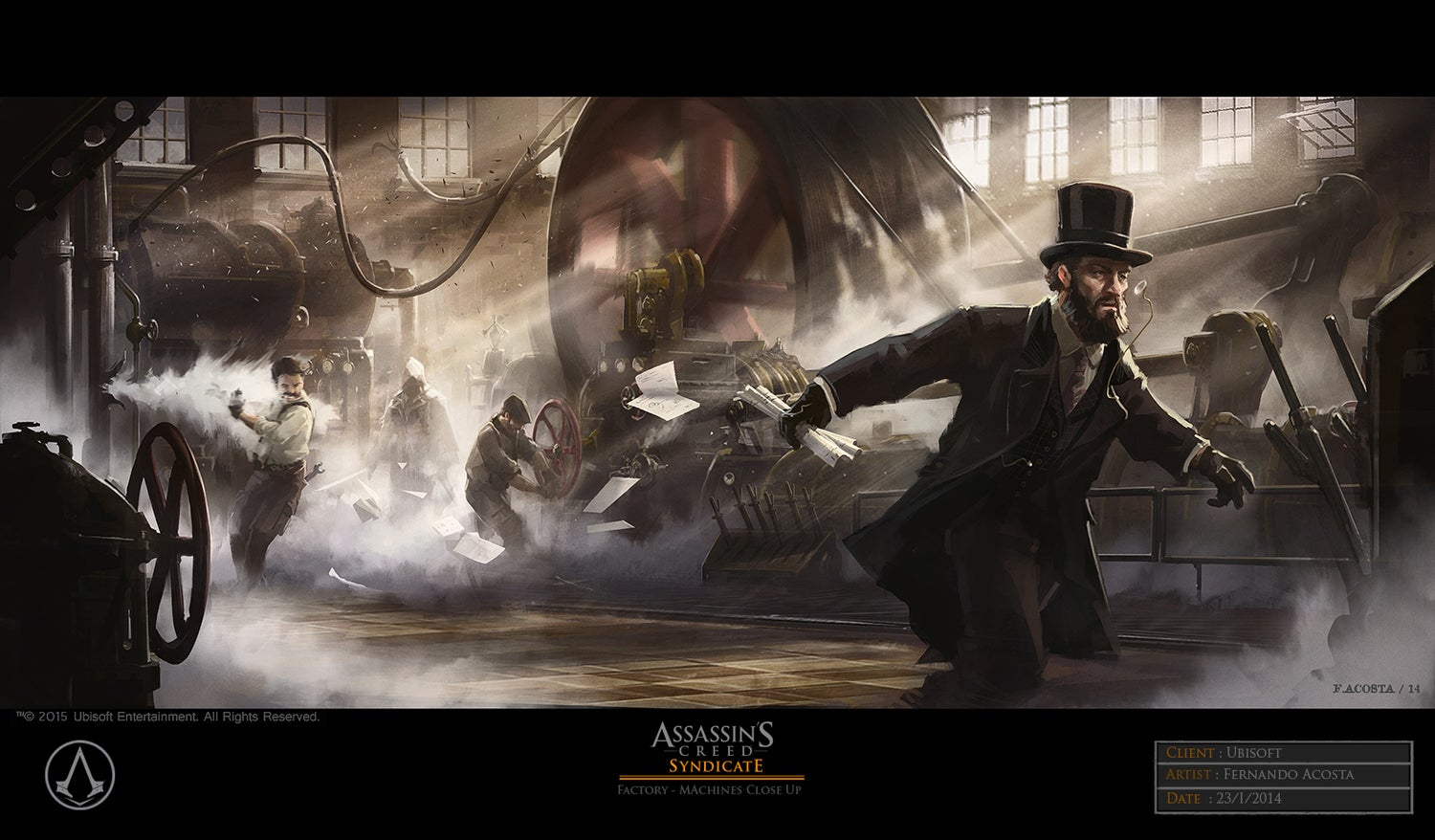 The Very Victorian Concept Art Of Assassin's Creed Syndicate