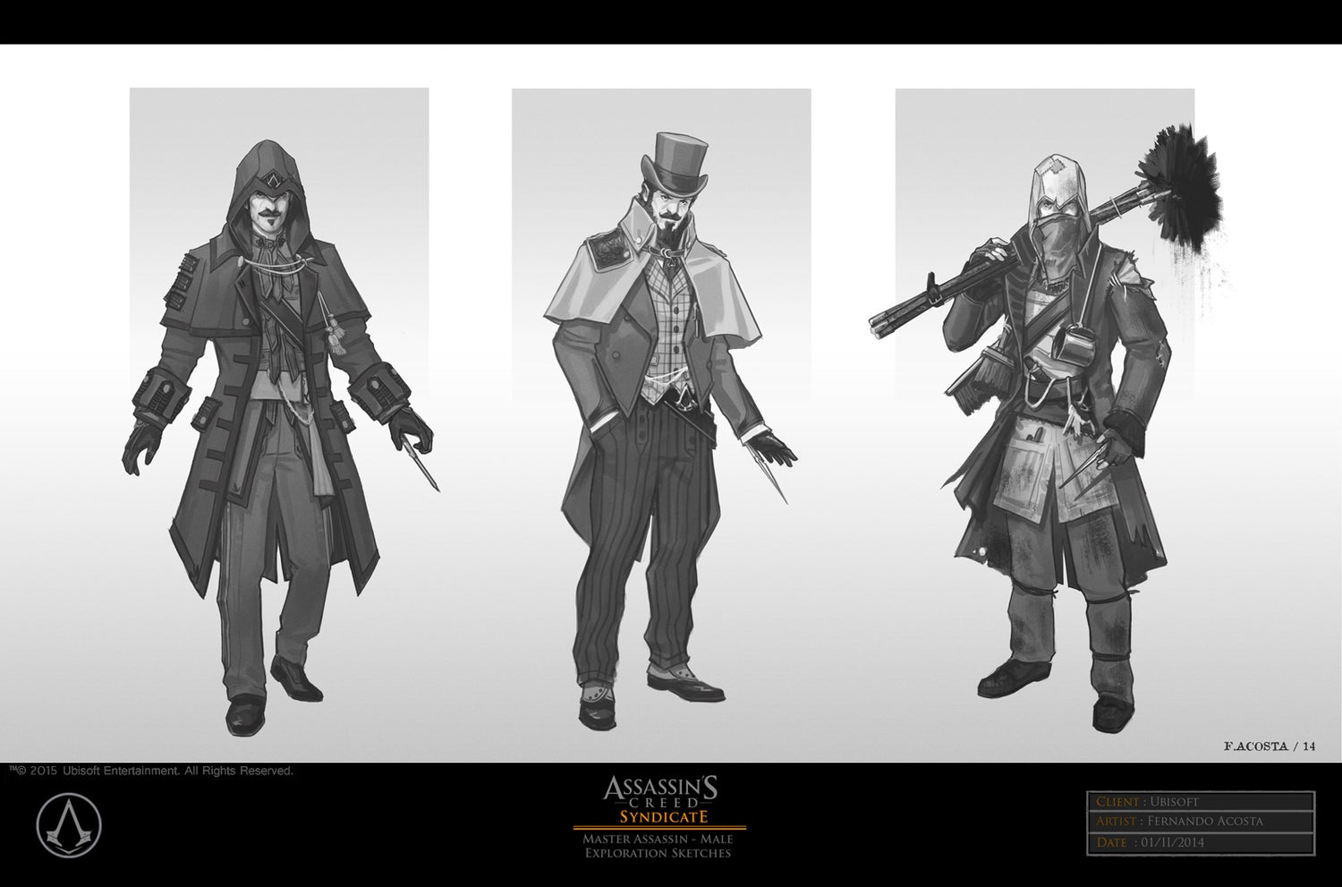 The Very Victorian Concept Art Of Assassin S Creed Syndicate