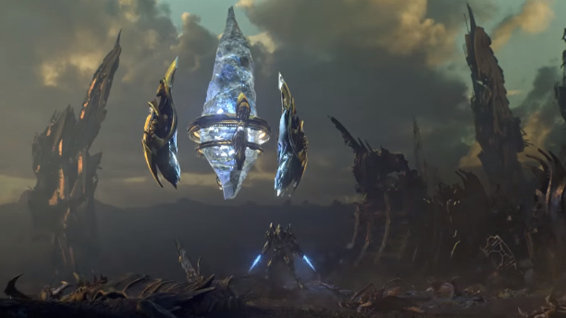 StarCraft II's New Deadly Tactic: Rushing With Pylons