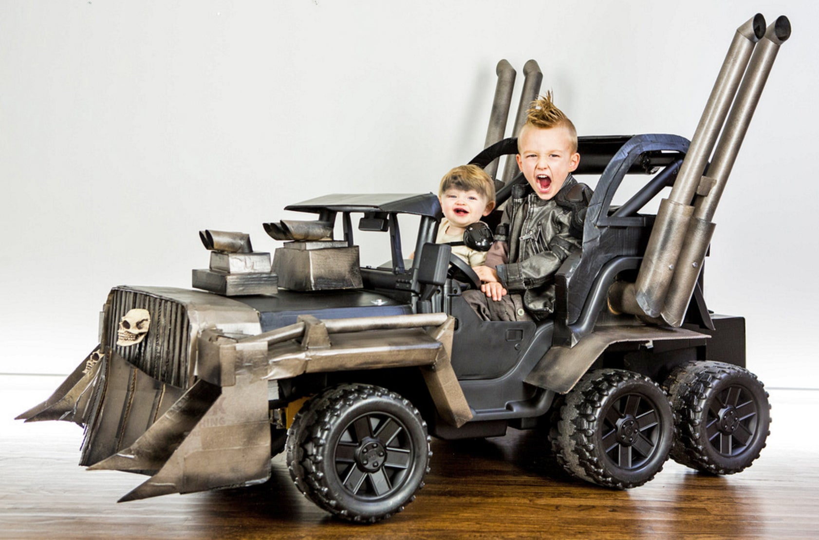 Your Halloween Costume Will Never Be As Amazing As This Mad Max Power Wheels on how to build an electric car guide