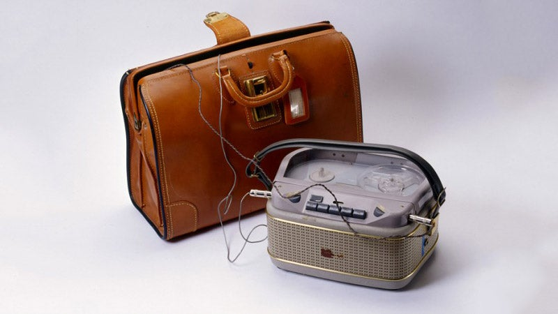 The CIA-Approved Briefcase Recorder