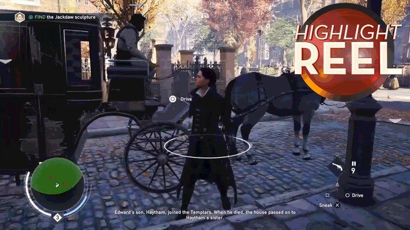 Well, That's One Way To Get Out Of A Carriage