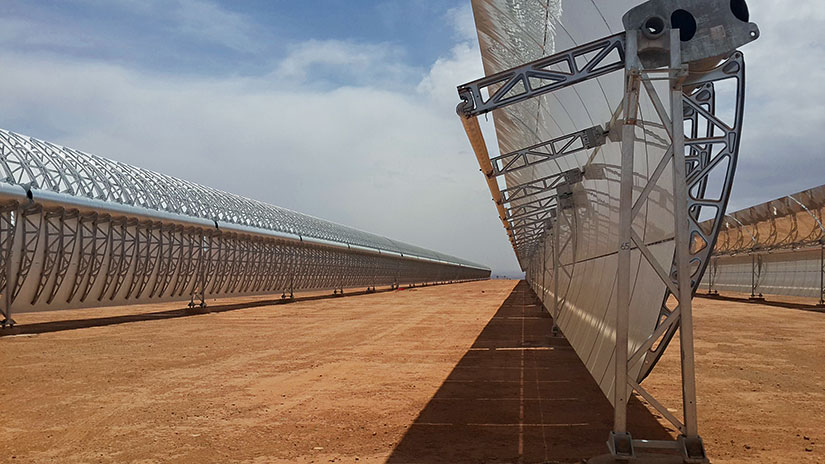 Morocco's New Solar Plant Will Cover an Area Larger Than Its Capital City