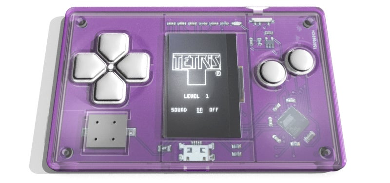 A Tiny Tetris-Playing Business Card Is Your New Discreet Distraction