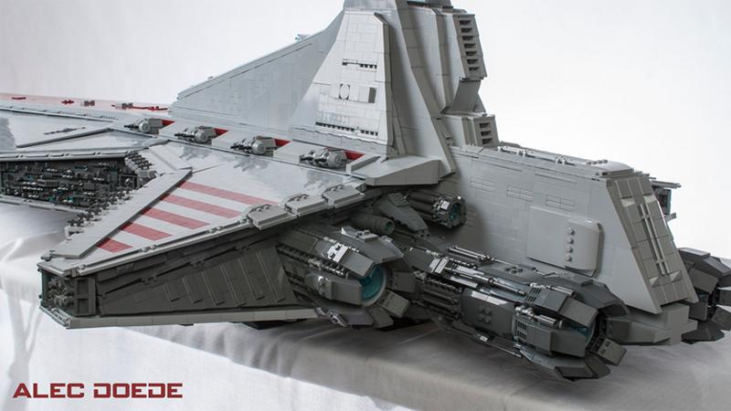 That's A Big LEGO Star Destroyer