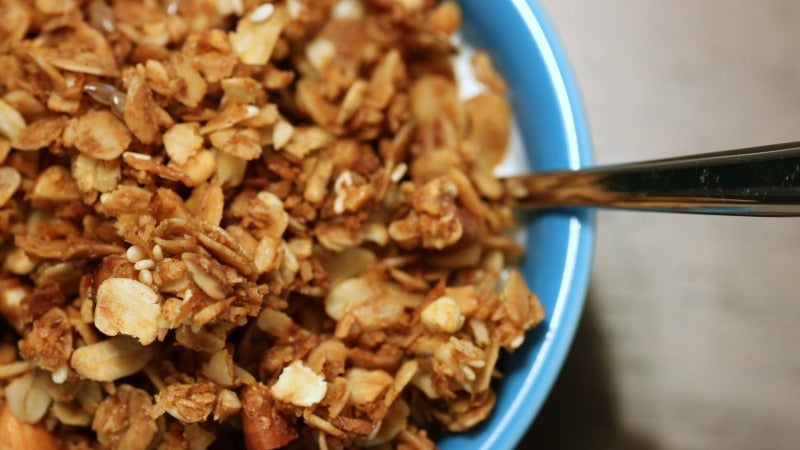 Have Granola Whenever You Please With This Super Quick Stove Top Recipe