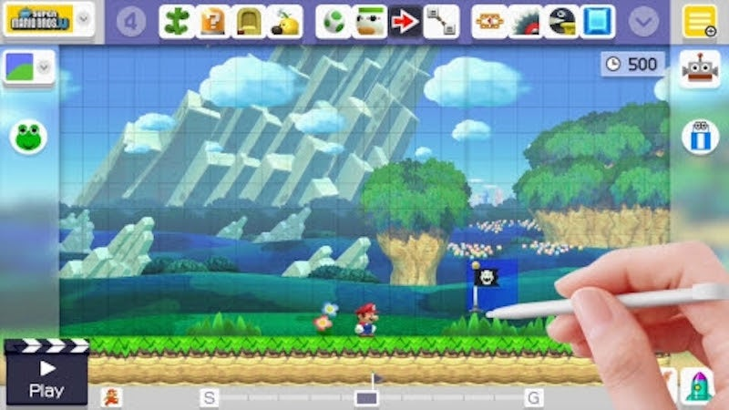 Mario Maker Is Getting A Big New Update