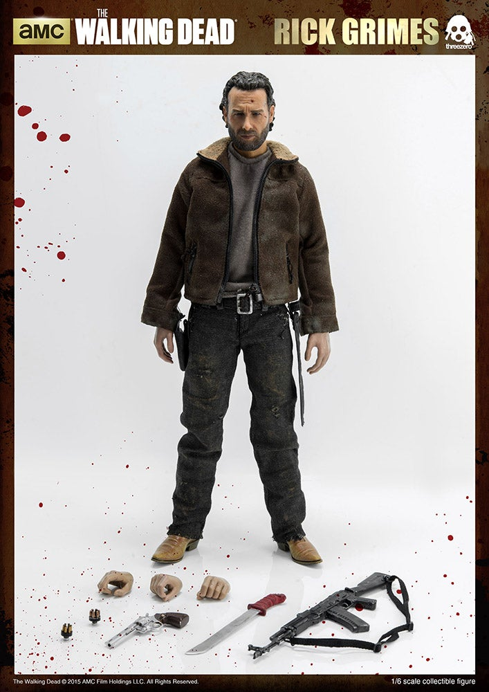 This Walking Dead Rick Grimes Figure Has Leaped Straight Out of the Apocalypse and Onto Your Desk