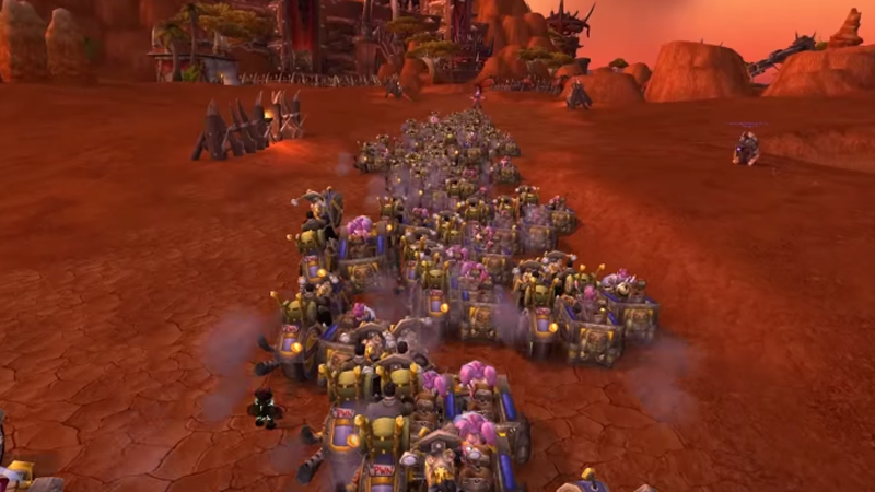 2500 World Of WarcraftGnomes Raid The Orc Capital