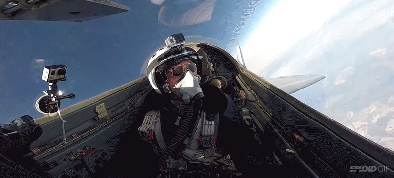 Here's what it's like to rent a MiG-29 to fly you above the clouds in the stratosphere
