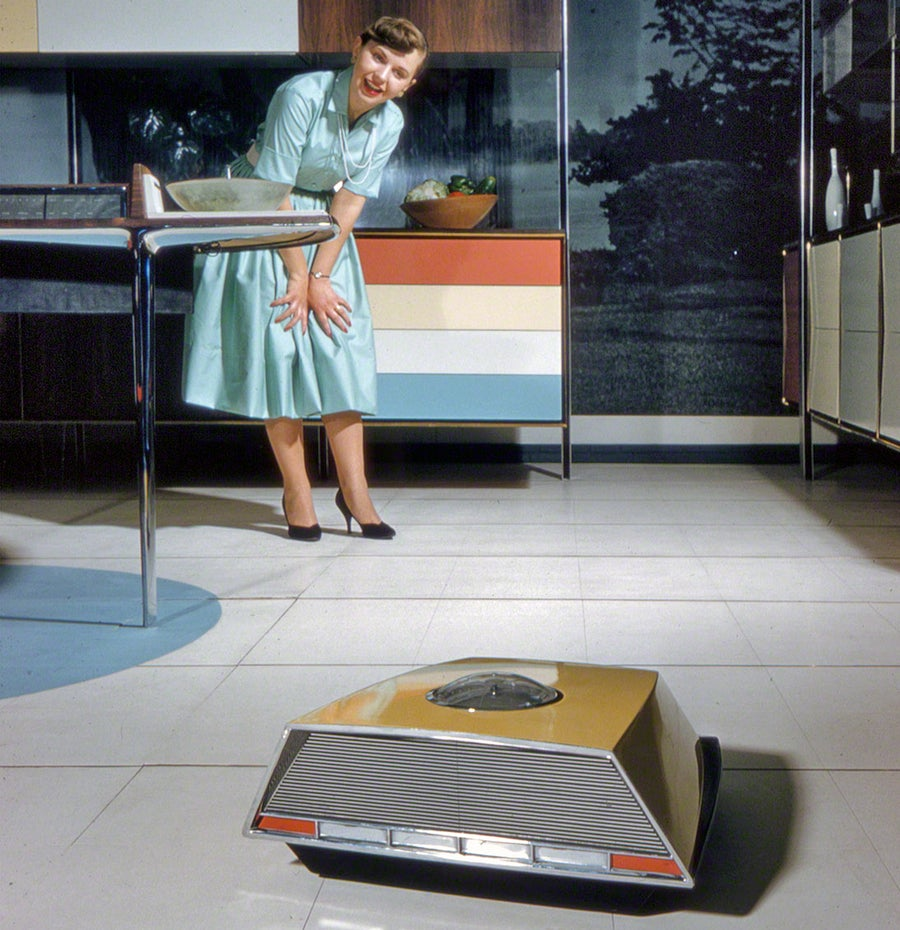 The 1950s 'Miracle Kitchen' of the Future Had Its Own Roomba