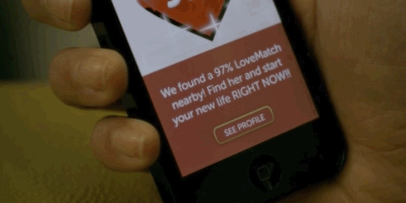 97% Is a Short About Finding Love on Your Smartphone — Wherever You May Be