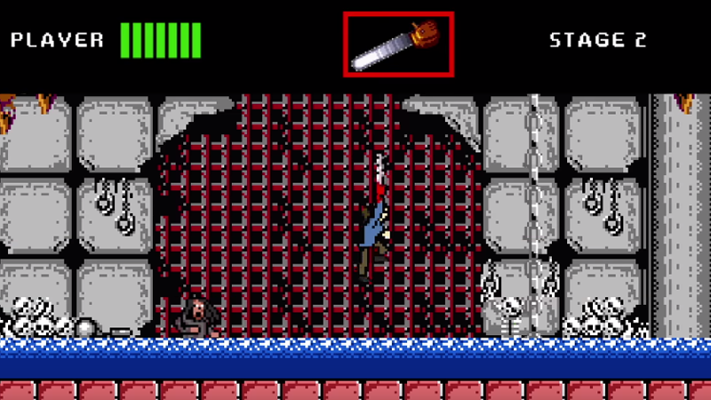 Army of Darkness As An NES Metroidvania Game