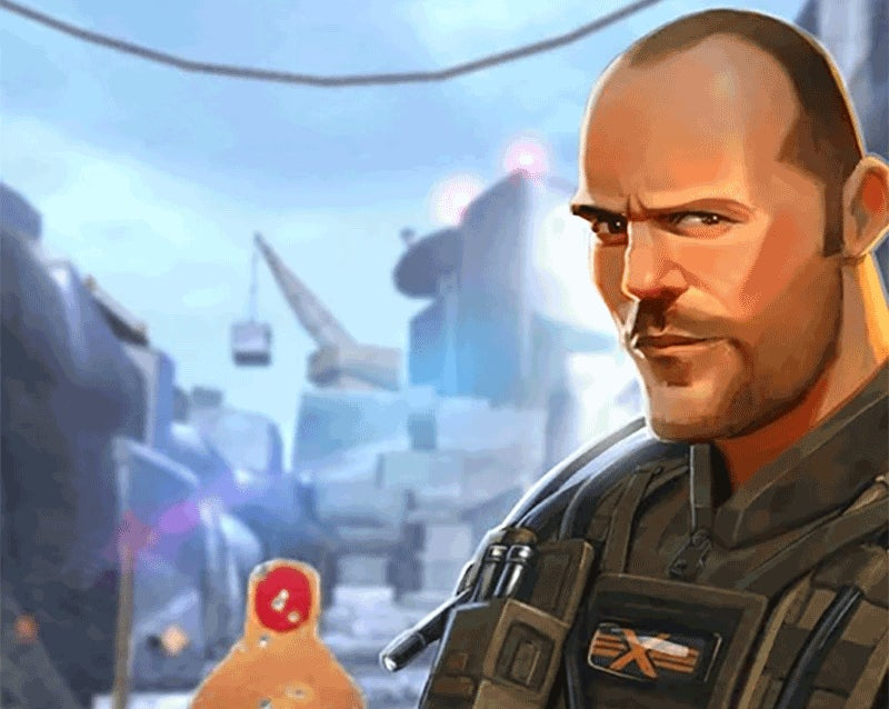 Sniper X Is Deer Hunter With Humans. Also Jason Statham.