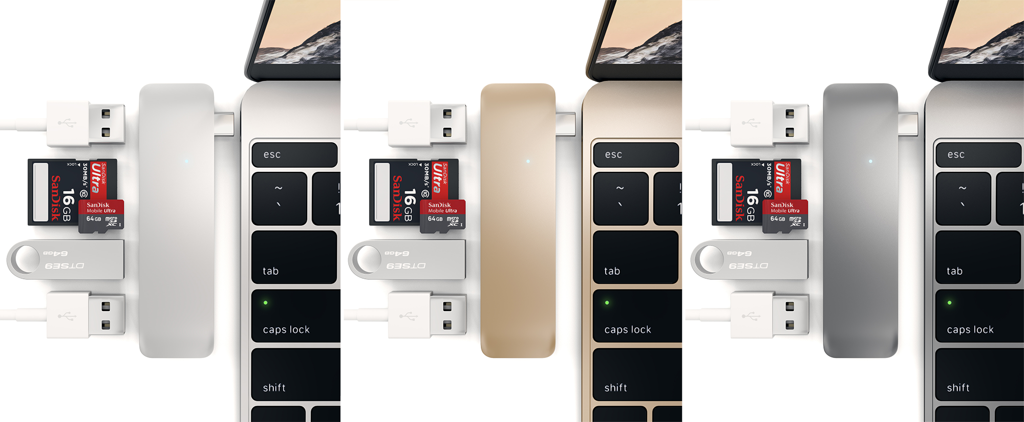 This Thin USB-C Dock Gives Your New MacBook Every Port It's Missing