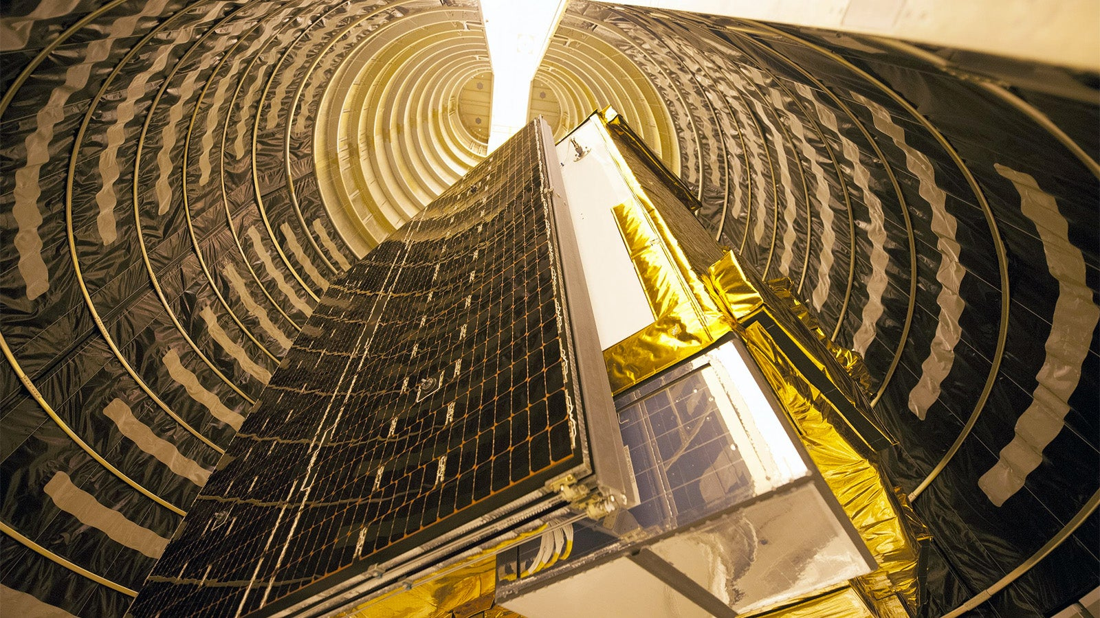 This Gorgeous GPS Satellite Is Ready for Tomorrow's Launch