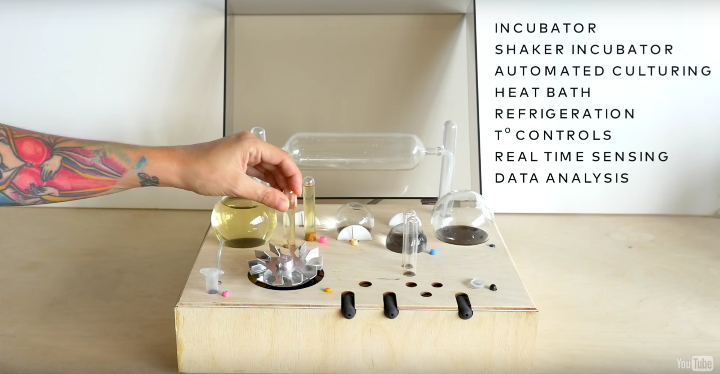 Want to Get Into Bio-Hacking? Here's a Beginner Bioreactor For Engineering Cells At Home