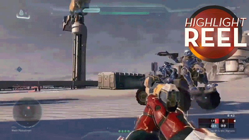Halo 5 Ground Pound Came Outta Nowhere