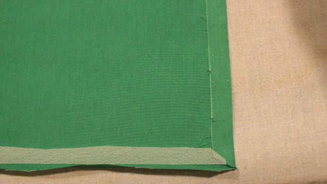 Make a DIY Pocket Square With Fabric and Hem Tape