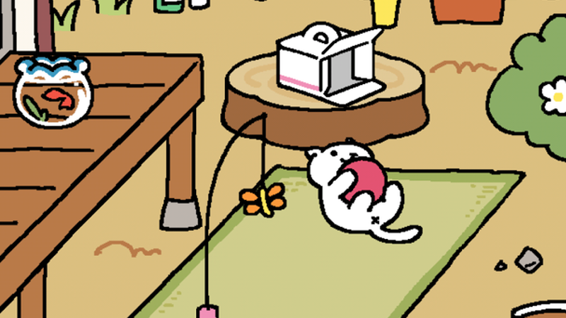 Japanese Cat Game Comes In English Now