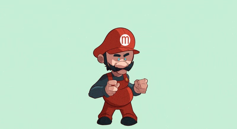 Mario Sure Likes To Play Dress-up