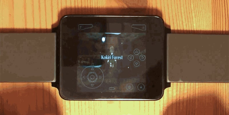 All I Need Is This Android Wear N64 Emulator and Ocarina of Time On My Wrist
