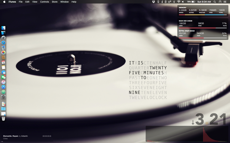 The White Vinyl Desktop