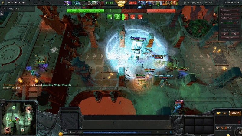 Dota 2 Turns Into A Haunted House For Halloween